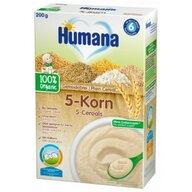 Humana - Cereale ECO, 5 Cereale Fara Lapte, 200 G, 4 Luni+