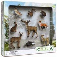 Collecta - Set 9 Figurine Animale De Padure
