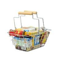 MamaMemo - Cos de cumparaturi , Metalic, Cu alimente