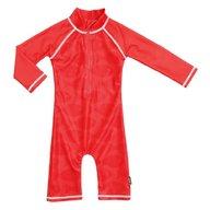 Swimpy - Costum de baie Fish Red , protectie UV , marime 86-92