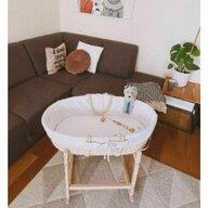 Cosulet Ahoj Sistem de leganare, Handmade din material ecologic ,  Include stand, 72x33 cm, Natur