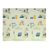Babykit - Covor Roads , Pliabil, 200x150 cm, Albastru