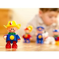 Tolo Toys - Figurina Cowboy , First Friends