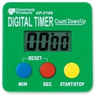 Learning Resources - Cronometru digital