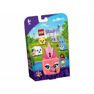 LEGO - Set de joaca Cubul cu flamingo al Oliviei ® Friends, pcs  41