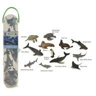 Collecta - Cutie cu 12 minifigurine Animale marine Set 1