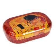 Fridolin - Cutie metalica pentru lentile de contact, Klimt The kiss