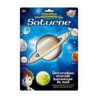 Buki France - Decoratiuni de perete fosforescente, Planeta Saturn
