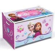 Delta Children - Ladita din lemn pentru depozitare jucarii Disney Frozen