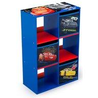 Delta Children - Organizator cu cadru din lemn pentru carti si jucarii Cars Cube