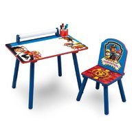 Delta Children - Set masuta pentru creatie si 1 scaunel Paw Patrol