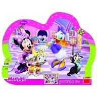 Dino - Toys - Puzzle cu rama Minnie si Daisy 25 piese