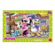 Dino Toys - Puzzle Minnie si Daisy la plimbare 15 piese