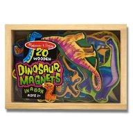 Dinozauri din lemn cu magneti Melissa and Doug