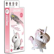 Brainstorm Toys - Puzzle DIY Animale 3D Eugy, Unicorn