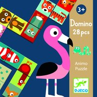 Djeco - Domino animo puzzle