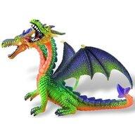 Bullyland - Figurina Dragon cu 2 capete, Verde