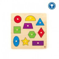 Hape - Educatia acasa - Puzzle forme geometrice