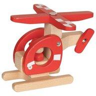 Goki - Vehicul de lemn Elicopter Pentru joc de rol