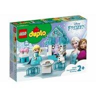 LEGO - Set de joaca Elsa si Olaf la Petrecere ® Duplo, pcs  17