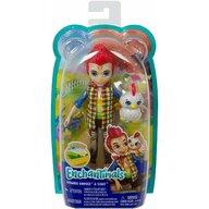 Mattel - Papusa Redward Rooster , Enchantimals , Cu figurina Cluck
