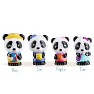 Klorofil - Set figurine Familia de ursuleti Panda