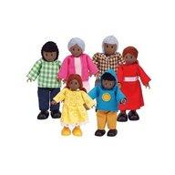 Hape - Familie de 6 membri afro-americani