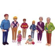 Miniland - Familie de europeni 8 figurine