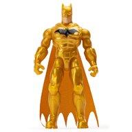 Spin Master - Figurina Supererou Batman , DC Universe , 10 cm, Cu costum auriu, 3 accesorii surpriza, Galben