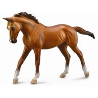 Collecta Figurina Cal Thoroughbred Mare Chestnut Deluxe