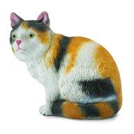 Collecta - Figurina Pisica domestica Pictata manual, S