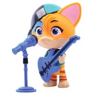 Smoby - Figurina 44 Cats Lampo 7,7 cm cu microfon si chitara