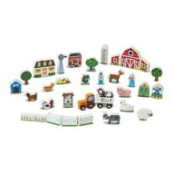 Figurine din lemn Ferma Melissa and Doug