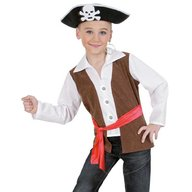 Fries - Costum pentru serbare Piratul Marilor 128 cm