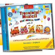 Gamma Educational Album muzical Trenuletul Muzical - Kids Musical Train vol.2