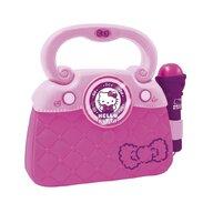 Reig Musicales - Geanta cu microfon si amplificator, Hello Kitty