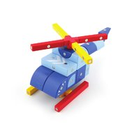 Genii Creation - Joc magnetic educativ din lemn Vehicule aeriene 44 piese
