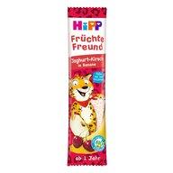 HiPP - Gustare din cereale si fructe  - iaurt, cirese si banana 23 g