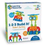 Learning Resources - Set de constructie Robot Hai sa construim - 1 2 3