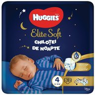 Huggies - Elite Soft Overnights Pants (nr 4) 19 buc, 9-14 kg