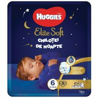 Huggies - Elite Soft Overnights Pants (nr 6) 16 buc, 15-25 kg