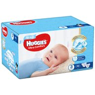 Huggies - Scutece UC Box (3) Boy 112 buc, 5-9 kg
