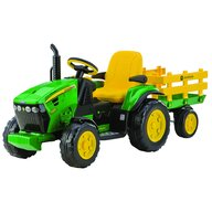 Peg Perego - Tractor JD Ground Force, W/Trailer