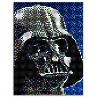 Quercetti - Joc creativ Pixel Art Star Wars Darth Vader, 5600 piese