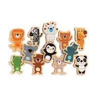 Djeco - Joc cu magneti Animale prietenoase
