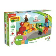 Hausmann (A-Haberkorn) - Set de constructie Learn&Fun Train 33 piese Unico Plus