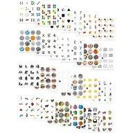 Miniland - Joc de memorie 24 activitati cu 4 table de joc