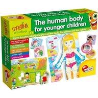 LISCIANI - Joc de potrivire - Descopera corpul uman