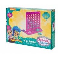 Saica - Joc de societate pentru copii 4 In linie, Shimmer and Shine