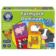 Orchard Toys - Joc educativ domino Ferma - Farmyard dominoes